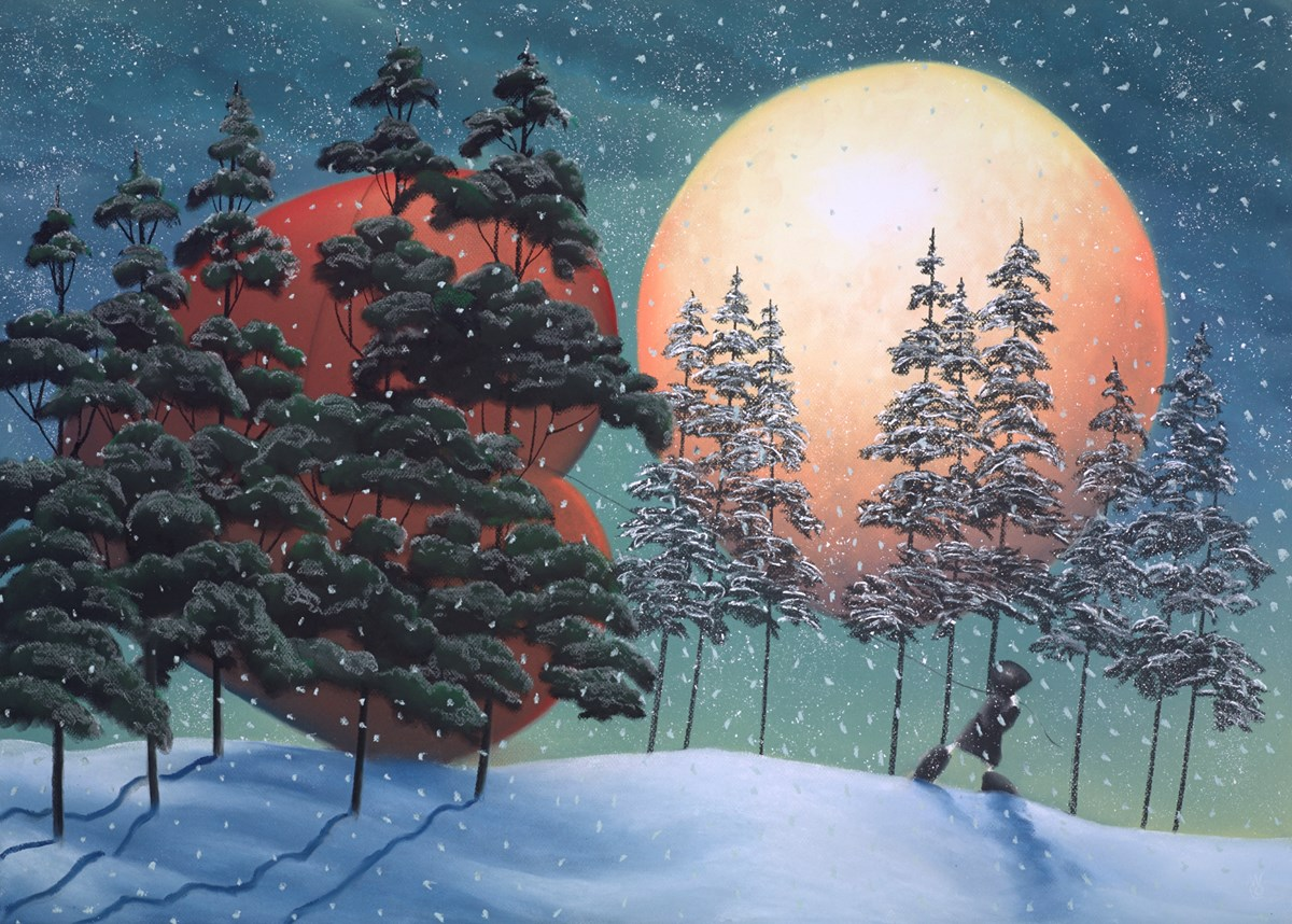 The Winter Moon of Love